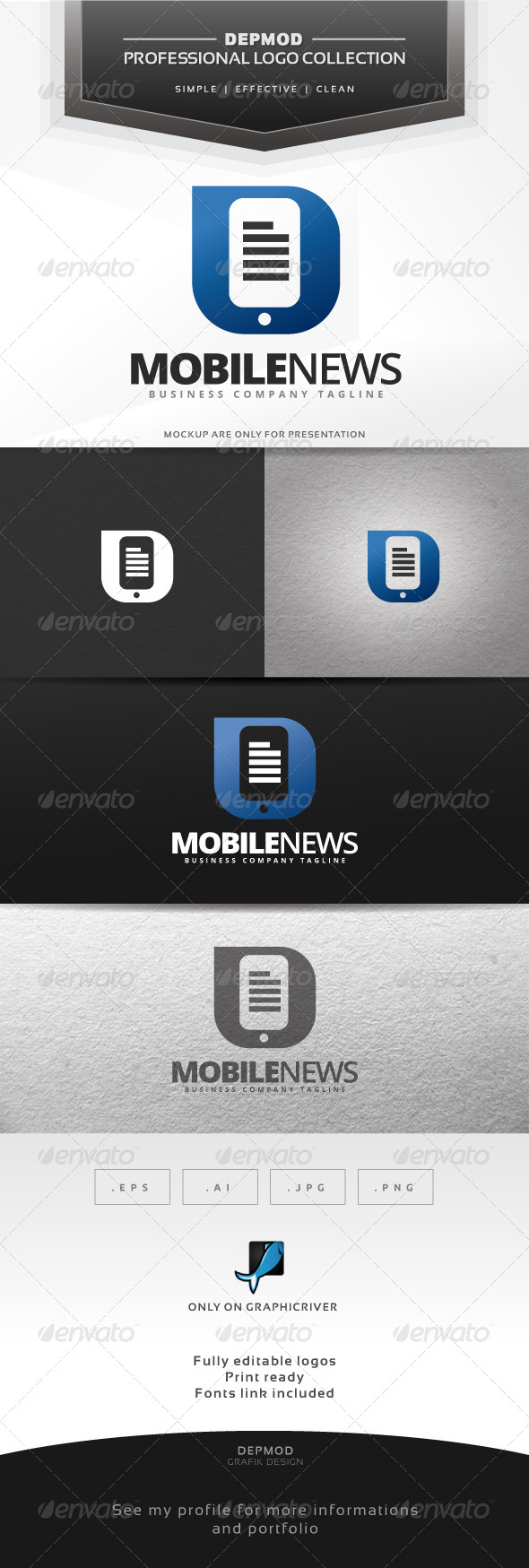 Mobile News Logo