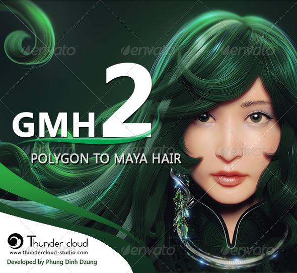 3DOcean GMH2 Hair Script 6979012