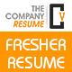 The Company Fresher Resume