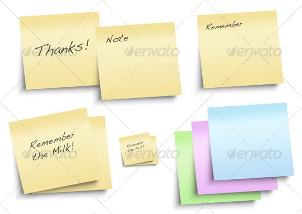 GraphicRiver Sticky Note 28663