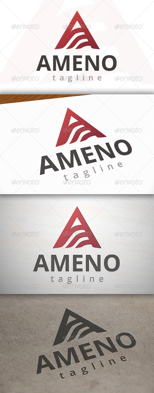 GraphicRiver Ameno A Letter Logo 6979183