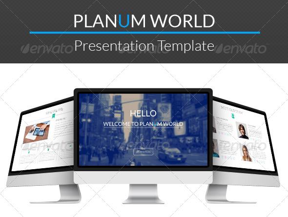 GraphicRiver Planum Presentation Template 6980024