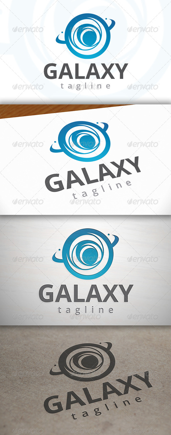 GraphicRiver Galaxy Logo 6980136