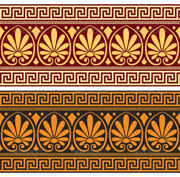 GraphicRiver Frieze with Greek Ornament 6980378