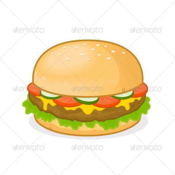 GraphicRiver Cheeseburger 6980381