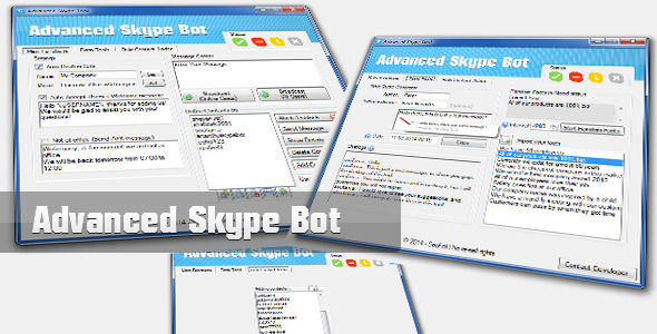 CodeCanyon Advanced Skype Bot 6980481
