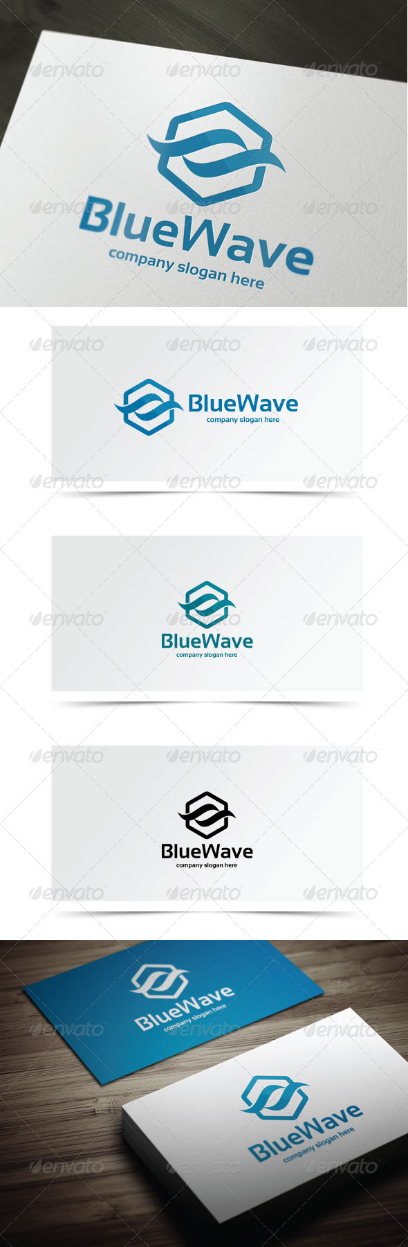 GraphicRiver Blue Wave 6981128