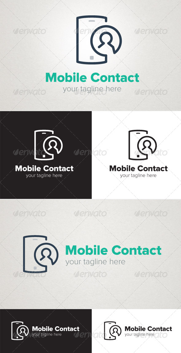 GraphicRiver Mobile Contact 6981143