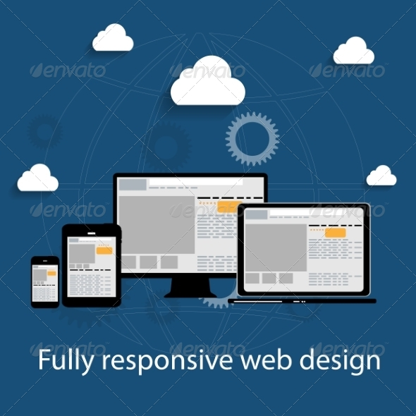 GraphicRiver Responsive Web Design Icon 6981643