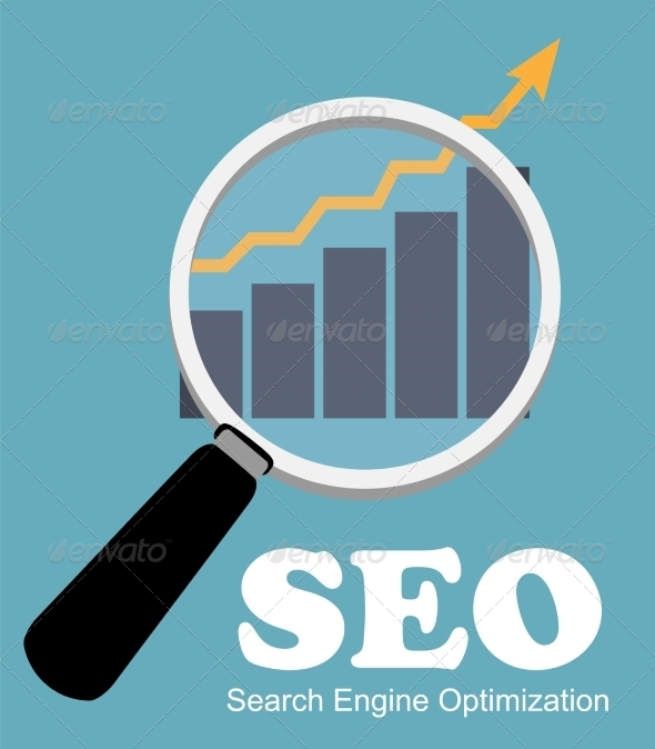 GraphicRiver SEO Search Engine Optimization Flat Icon 6981835