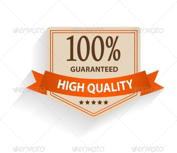 GraphicRiver Satisfaction Guaranteed Label 6981973