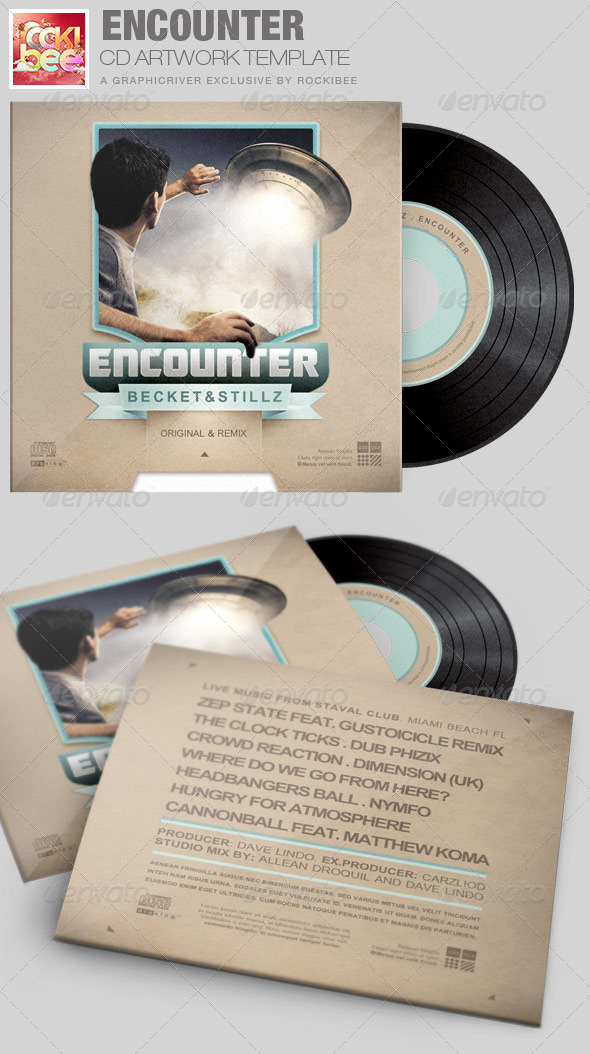 GraphicRiver Encounter CD Artwork Template 6982009