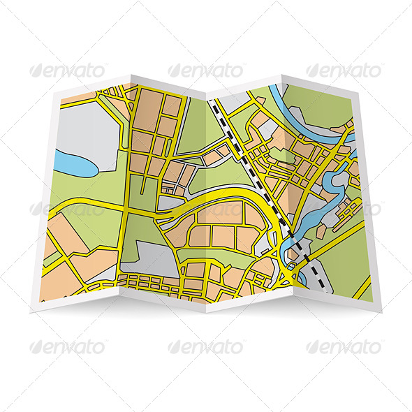 GraphicRiver Map Booklet 6982302