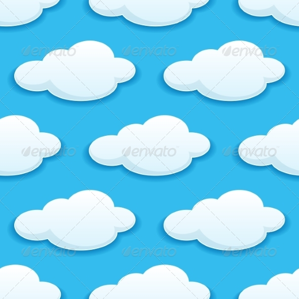 GraphicRiver Seamless Pattern Clouds 6982680