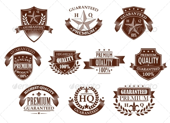 GraphicRiver Premium and Highest Quality Guaranteed Labels 6983371