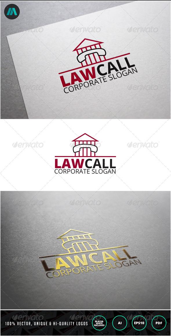 GraphicRiver Law Call Logo Template 6973503