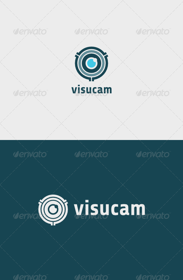 GraphicRiver Visucam Logo 6984278