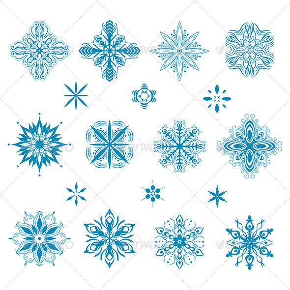 GraphicRiver Snow Icons 6984694
