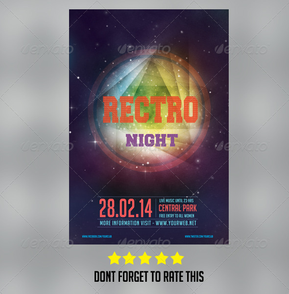 GraphicRiver Event Flyer 6984695
