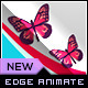 Butterfly Animation Banner AD