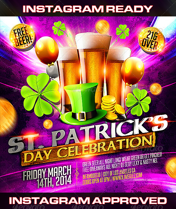 GraphicRiver St Patricks Day 3 6986249
