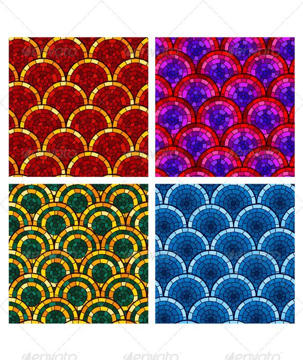 GraphicRiver Circular Brick Pattern 6986301
