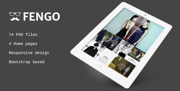 ThemeForest Fengo Responsive eCommerce PSD Template 6986388