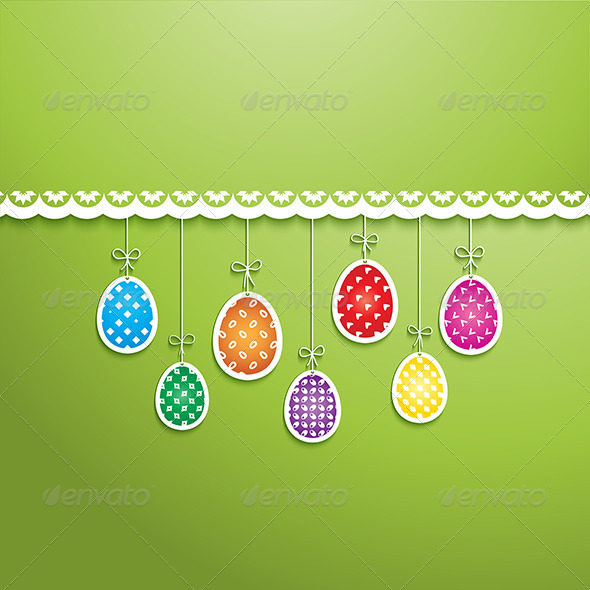 GraphicRiver Easter Egg Background 6986709