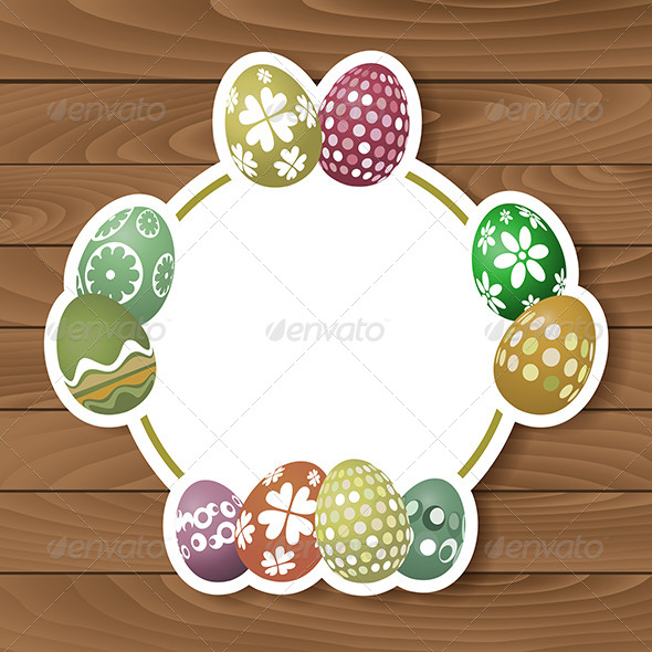 GraphicRiver Easter Egg Background 6986881