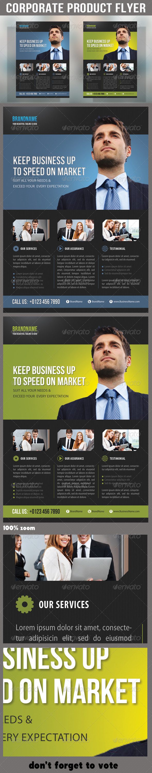 GraphicRiver Corporate Product Flyer 59 6986956