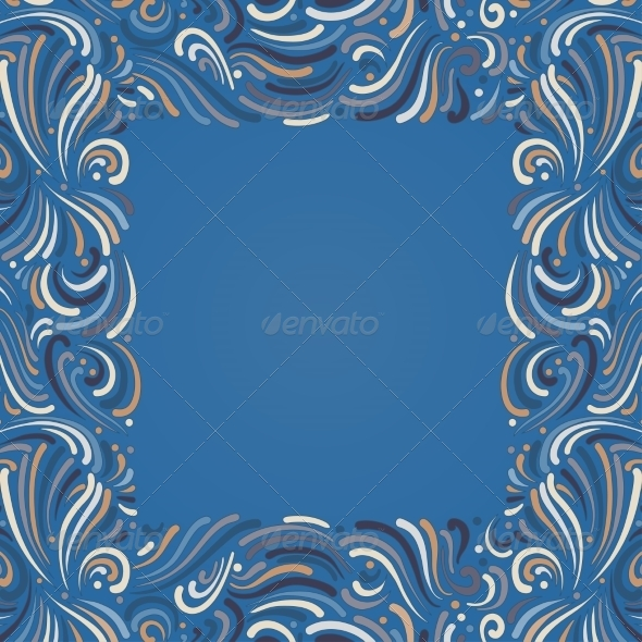 GraphicRiver Background with Abstract Pattern 6987263
