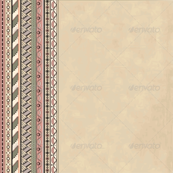 GraphicRiver Background with Abstract Geometric Pattern 6987281