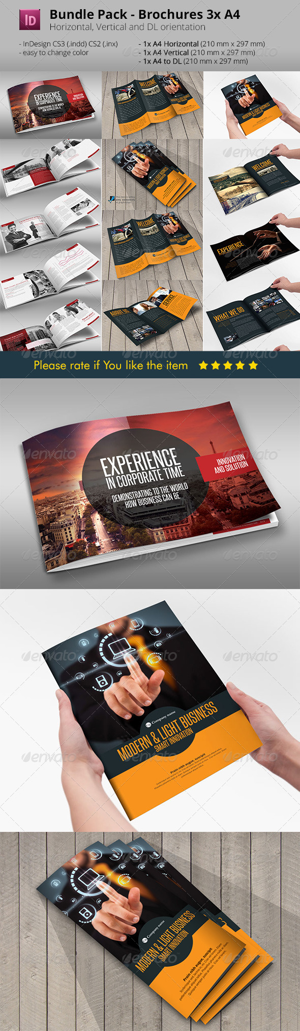 GraphicRiver Bundle 3x Folders Pack 6987454