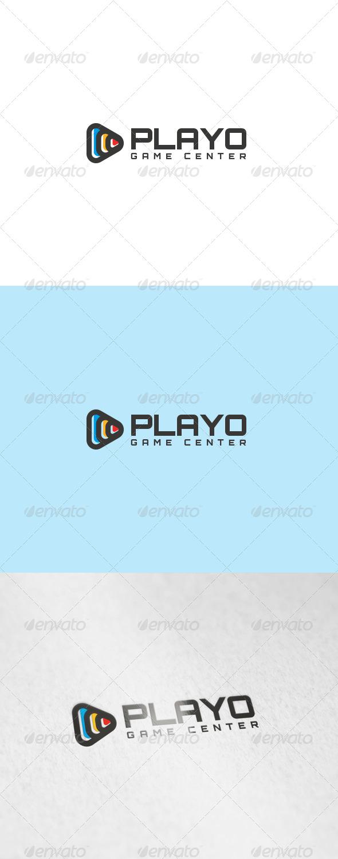 GraphicRiver Playo Logo 6987654