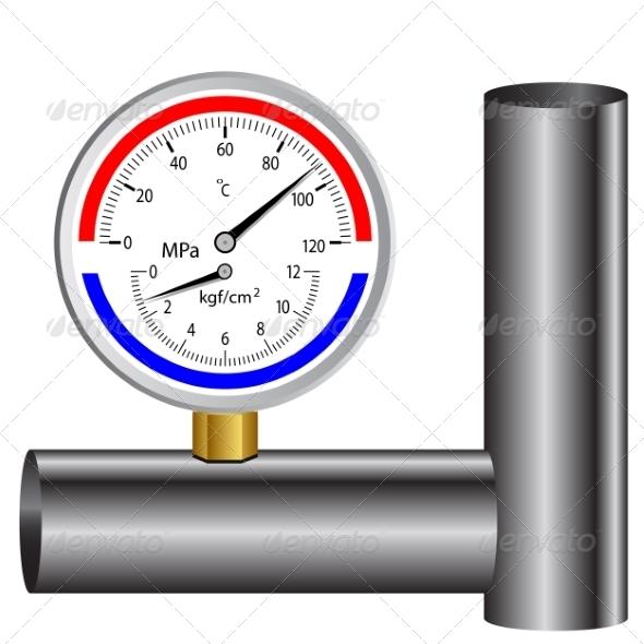 GraphicRiver Gas Manometer 6987904