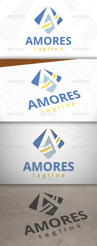 GraphicRiver Amor A Letter Logo 6987911