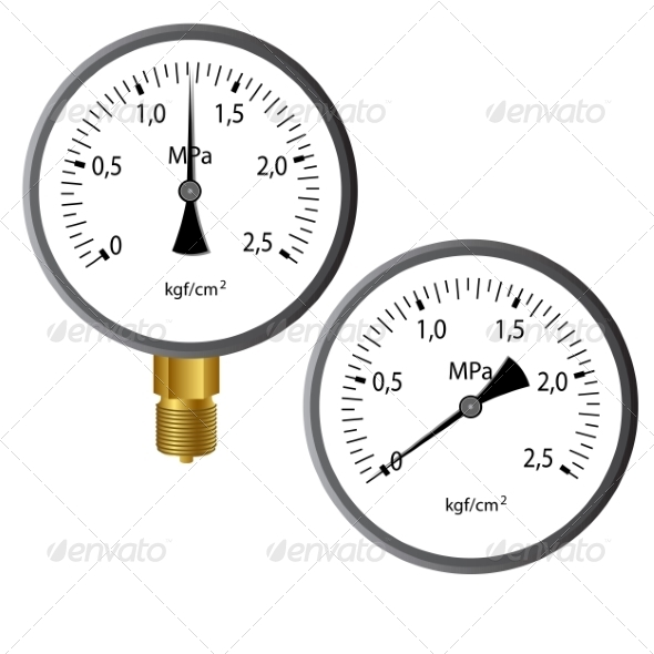 GraphicRiver Gas Manometer 6987942