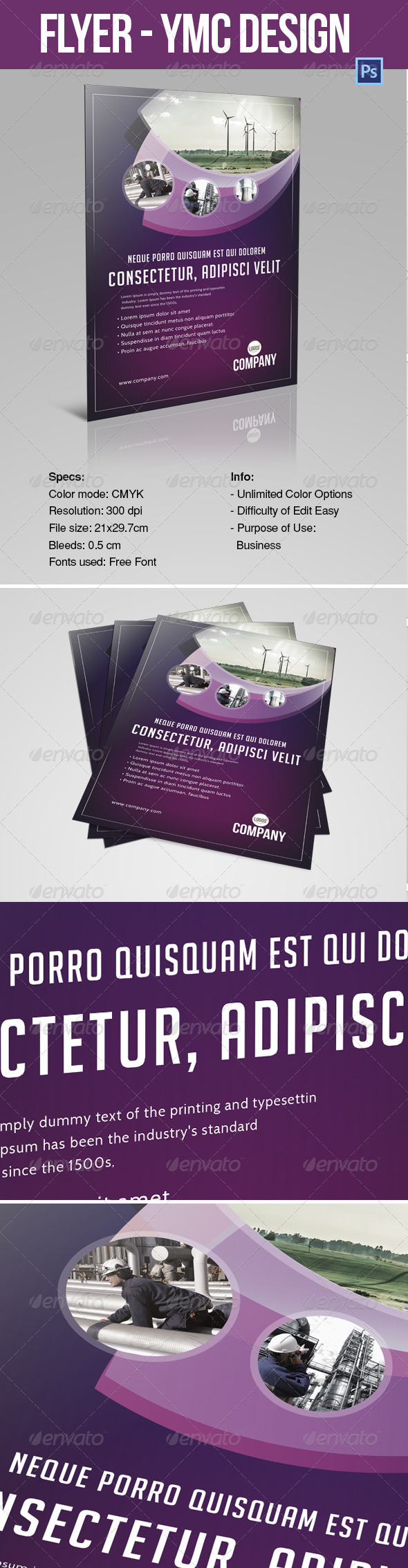 GraphicRiver FLYER 2 YMC DESIGN 6988014