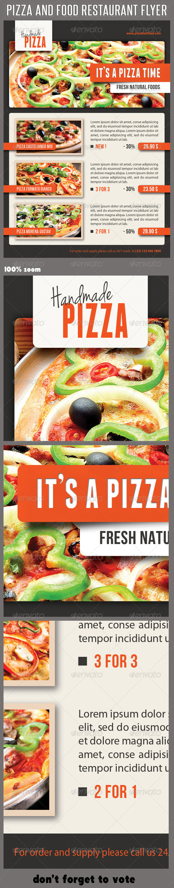 GraphicRiver Food And Pizza Menu Flyer 08 6977630