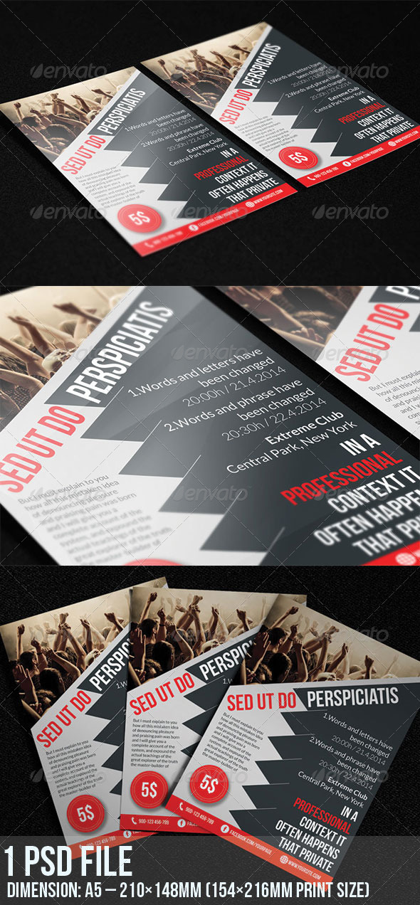 GraphicRiver Event Flyer 6988057