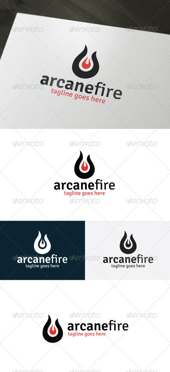 GraphicRiver Arcane Fire Logo 6988196