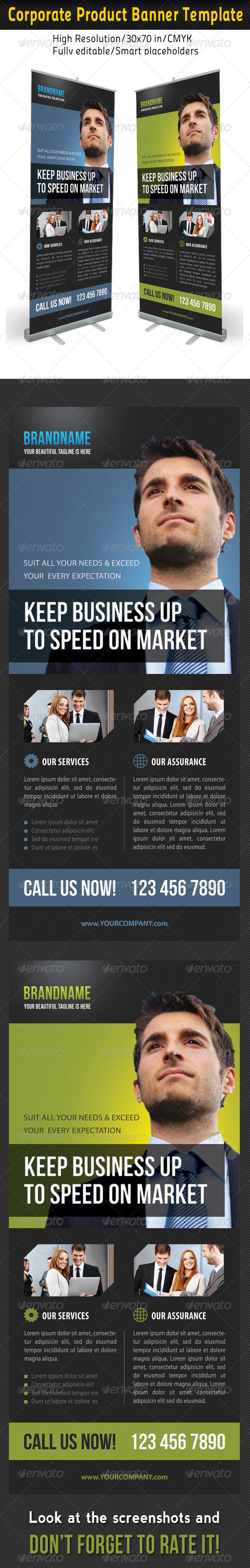 GraphicRiver Corporate Multipurpose Banner Template 40 6988524
