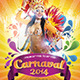 Carnival 2014 Flyer Template  - GraphicRiver Item for Sale