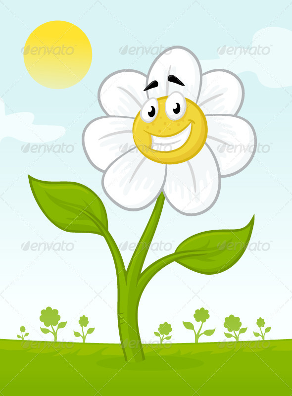 GraphicRiver Happy Flower 6988663