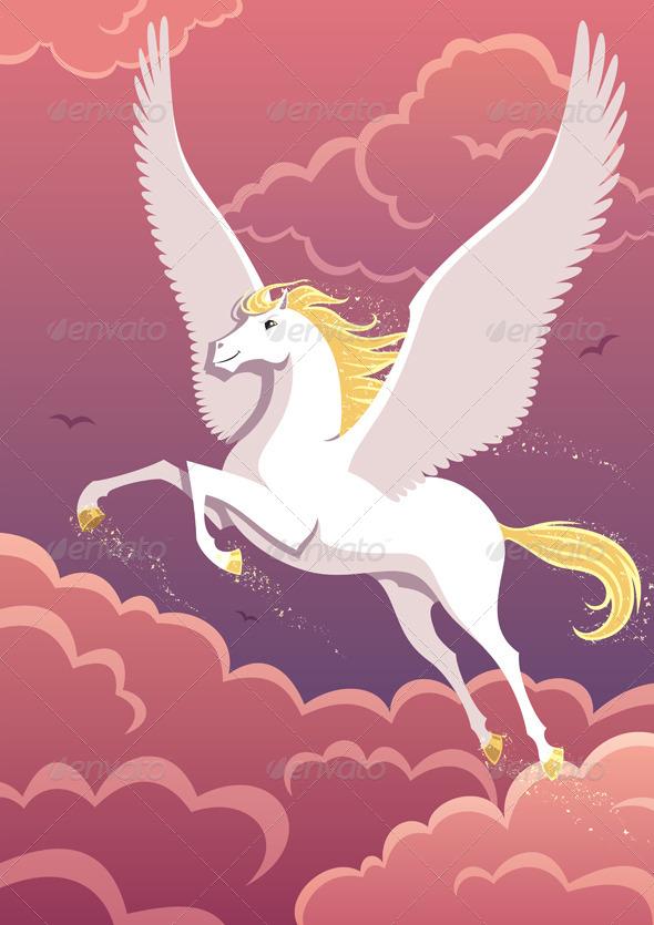 GraphicRiver Pegasus 6988868
