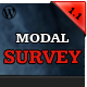 Modal Survey - WordPress Feedbacks & Polls Plugin - CodeCanyon Item for Sale