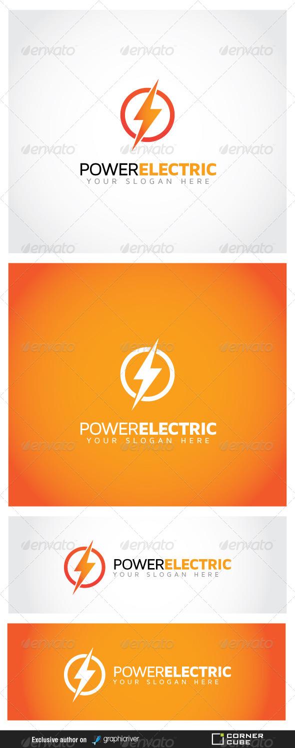 GraphicRiver Power Electric Logo 6989719