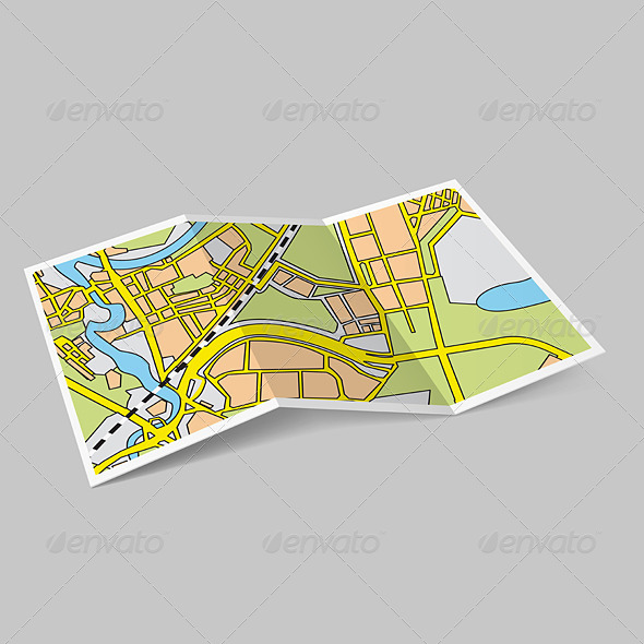 GraphicRiver Map Booklet 6989727