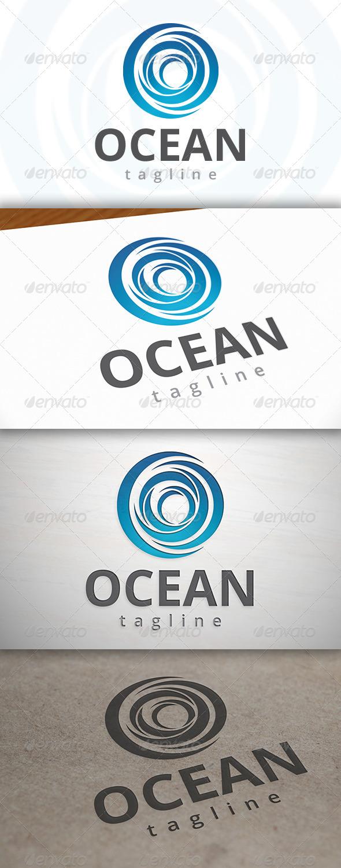 GraphicRiver Ocean Wave Logo 6989852