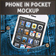 Photorealistic Phone in Pocket Mock-up - GraphicRiver Item for Sale